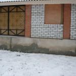 стена бывшей веранды