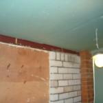 Обшивка потолка и стены гипсокартоном