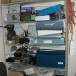 Шкаф с оборудованием