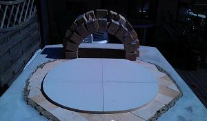 Основание макета в форме круга