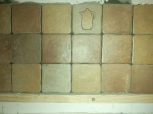 Три ряда плитки