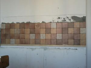 Четвёртый ряд плитки