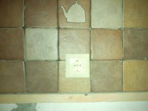 Установка розетки на плитку
