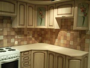 Общий вид итальянской плитки с кухней