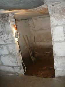 Помещение в подвале, подходящее под погреб