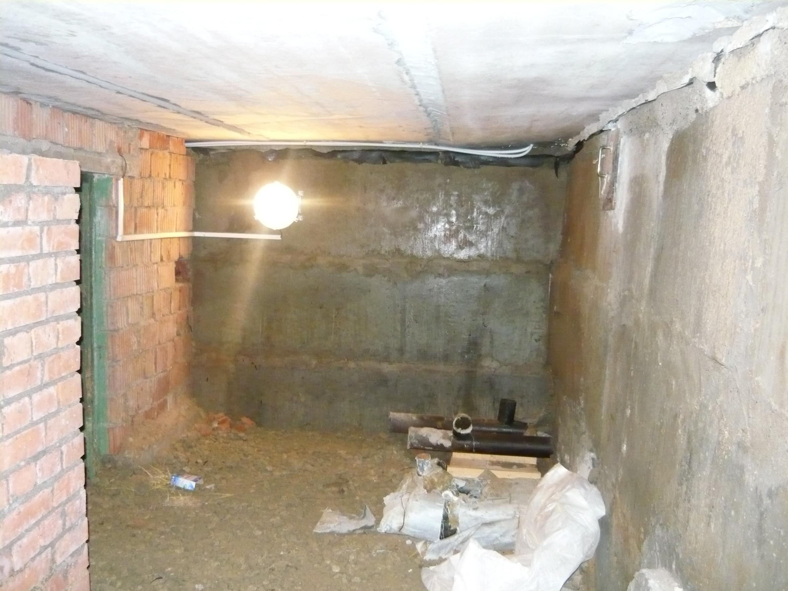 Освещение в подвале гаража своими руками 45