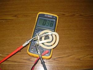 Проверка целостности нагревательного элемента