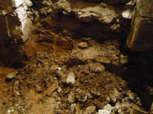 Выбор грунта в районе выхода