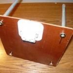 Крепление выключателя на текстолите