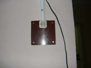 Монтаж выключателя на стену