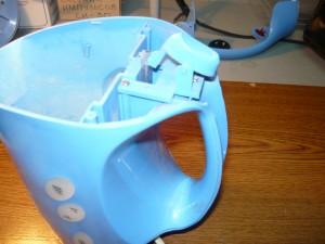 Подсоединение кнопки включения чайника