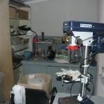 Оборудование в новом помещении мастерской