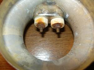 Состояние контактов электросамовара
