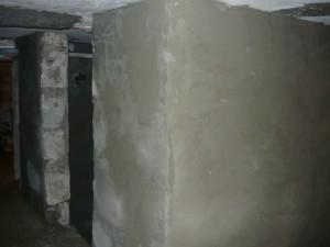 Оштукатуривание стен погреба с наружной стороны
