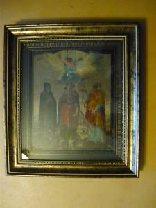 Икона Святых Тита, Евдокима и Варвары