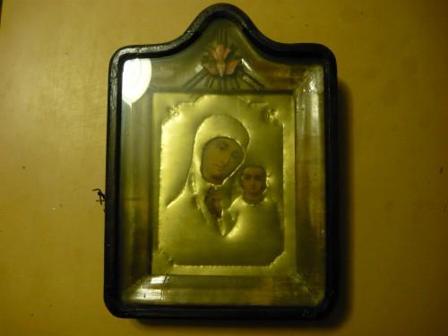 Икона Божьей Матери и младенца Иисуса Христа