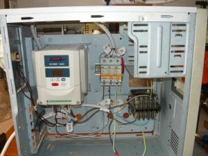 Монтаж проводов согласно электросхемы