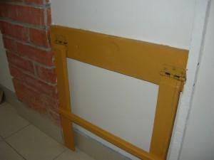 Крепление механизма к стене