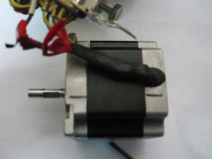 Проблемный провод на шаговом двигателе