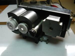 Вид на головку принтера в сборе