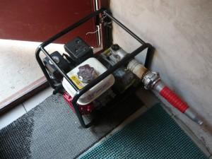 Бензиновый насосный агрегат