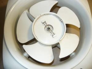 Собранный вентилятор