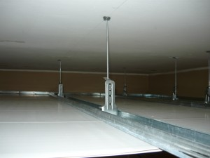 набор плоскости потолка
