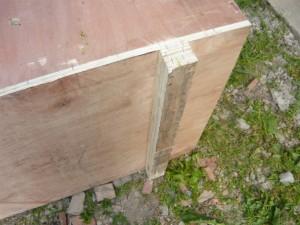 ножки для ящика из брусков