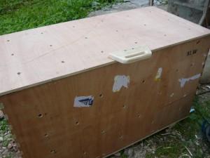 готовый ящик под картошку