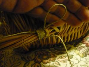 Намотка шпагата виток к витку