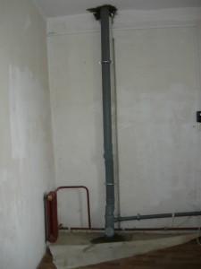 Общий вид санузла на первом этаже