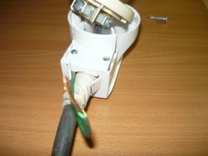 Закрепление провода