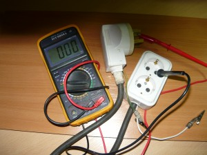 Проверка цепи нулевого провода