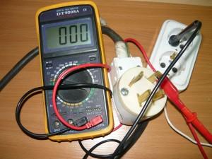 Проверка цепи фазного провода