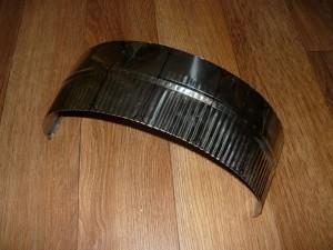 Кусок листовой нержавеющей стали