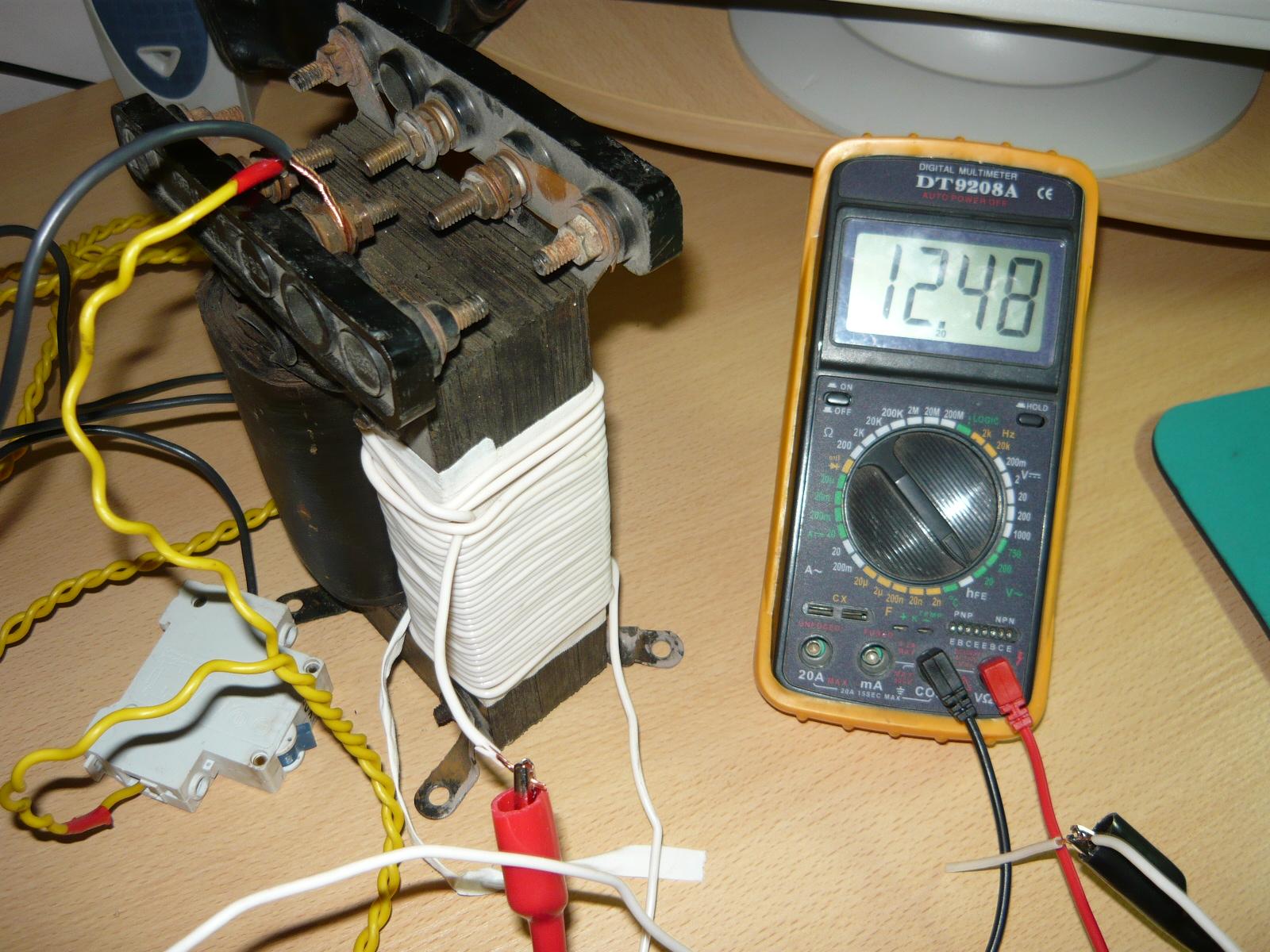Трансформатор 220 12в своими руками