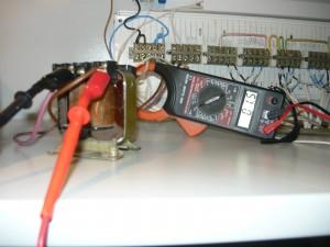 Измерение тока одного светильника