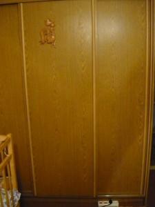 Отремонтированный шкаф