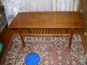 Отремонтированный стол