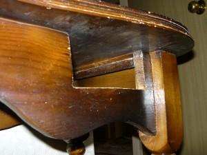 Передняя часть фартука трюмо