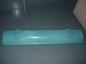 Корпус пластикового светильника