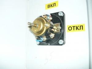 Монтаж провода на выключатель