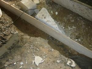 Проверка и укрепление опалубки