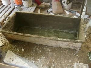 Бадья для приготовления бетонного раствора