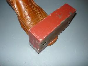 Пресс из куска металла