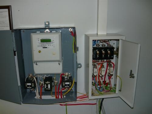 электросчетчика через