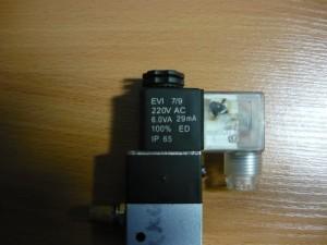 Маркировка электромагнита клапана на 220В