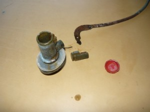 Вид на разобранный клапан