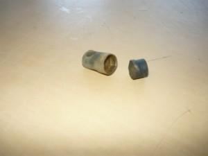 Резиновая насадка подвижной части клапана