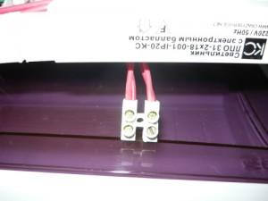 Чередование фазы и ноля на соединительной колодке слева направо